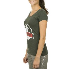 Bikeunit Crew T-Shirt Dames grijs